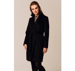 Płaszcz jesienno - zimowy DARIA ALPAKA - czarny