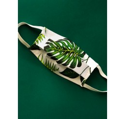 Maska ochronna  dwuwarstwowa - botanic