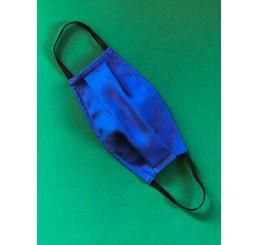 Maska ochronna  dwuwarstwowa - kobalt